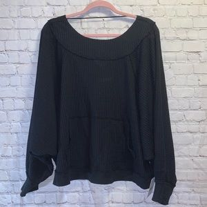 FREE PEOPLE We The Free Westend Thermal Top, NWT!